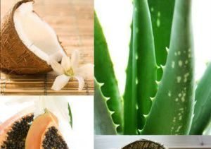 Aloe Vera Mask with Coconut Milk